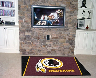 Washington Redskins 4 Foot x 6 Foot Rug