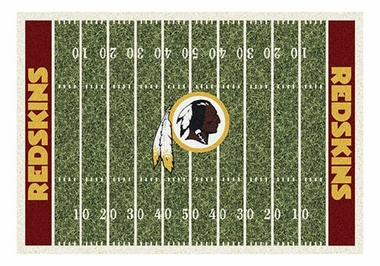 "Washington Redskins 5'4"" x 7'8"" Premium Field Rug"