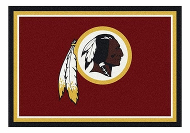 "Washington Redskins 5'4"" x 7'8"" Premium Spirit Rug"