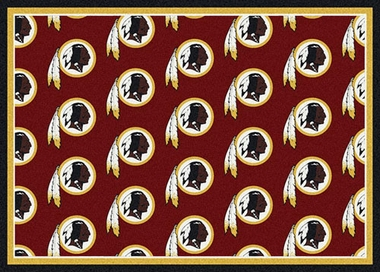 "Washington Redskins 7'8 x 10'9"" Premium Pattern Rug"