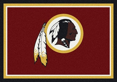 "Washington Redskins 7'8"" x 10'9"" Premium Spirit Rug"