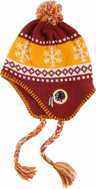 Washington Redskins Abomination Tassel Knit Hat