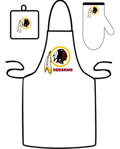 Washington Redskins Apron and Mitt Set