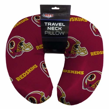 Washington Redskins Beaded Neck Pillow
