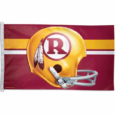 Washington Redskins Big 3x5 Flag (Throwback)