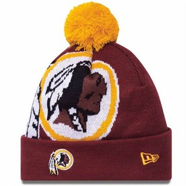 Washington Redskins Biggie Cuffed Knit Hat