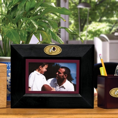 Washington Redskins BLACK Landscape Picture Frame