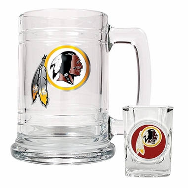 Washington Redskins Boilermaker Set