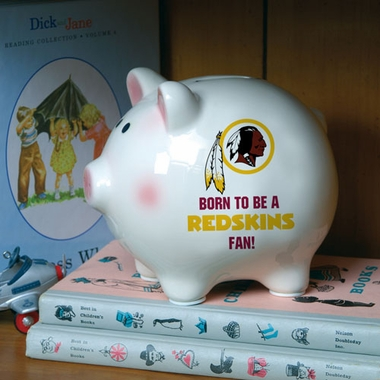 Washington Redskins (Born to Be) Piggy Bank
