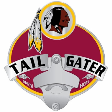 Washington Redskins Bottle Opener Hitch Cover