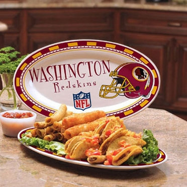 Washington Redskins Ceramic Platter