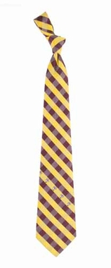 Washington Redskins Check Poly Necktie