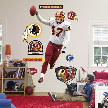 Washington Redskins Chris Cooley Fathead Wall Graphic