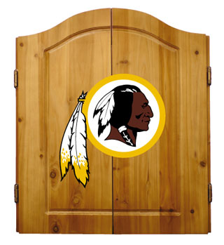 Washington Redskins Complete Dart Cabinet