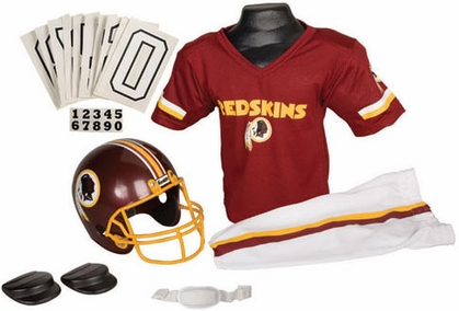 Washington Redskins Deluxe Youth Uniform Set