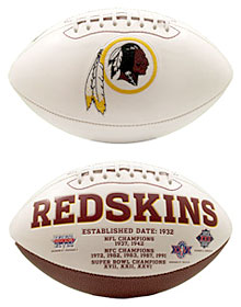 Washington Redskins Embroidered Signature Series Football