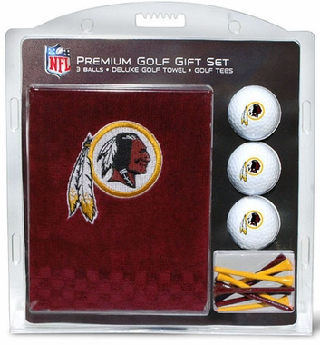 Washington Redskins Embroidered Towel Gift Set