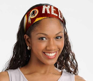 Washington Redskins FanBand Hair Band
