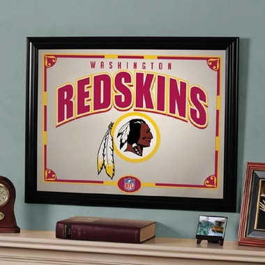 Washington Redskins Framed Mirror