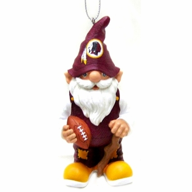 Washington Redskins Gnome Christmas Ornament