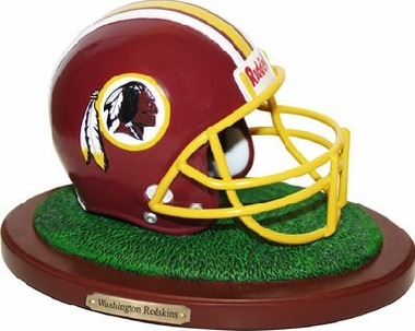 Washington Redskins Helmet Figurine