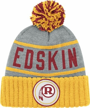 Washington Redskins High 5 Vintage Cuffed Pom Hat
