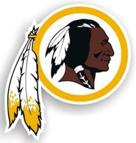 Washington Redskins Individual Car Magnet