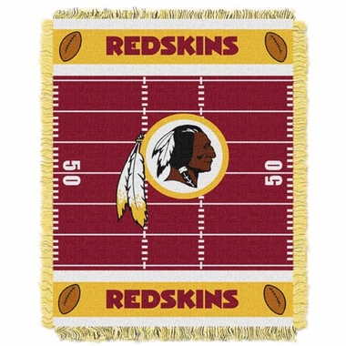 Washington Redskins Jacquard BABY Throw Blanket