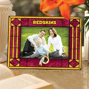 Washington Redskins Landscape Art Glass Picture Frame