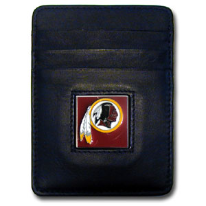 Washington Redskins Leather Money Clip (F)