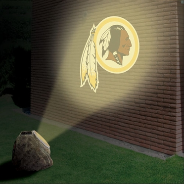 Washington Redskins Logo Projection Rock