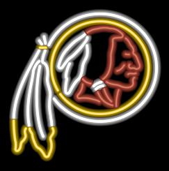 Washington Redskins Neon Light
