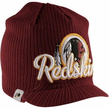 Washington Redskins New Era NFL Retro Viza Visor Knit Hat