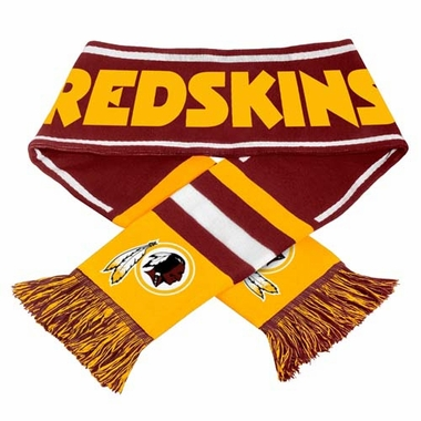 Washington Redskins NFL 2013 Team Wordmark Knit Scarf