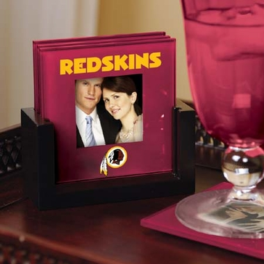 Washington Redskins Photo Coaster Set