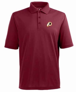 Washington Redskins Mens Pique Xtra Lite Polo Shirt (Team Color: Maroon)