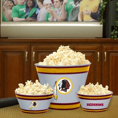 Washington Redskins Plastic Serving Set