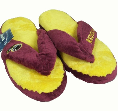 Washington Redskins Plush Thong Slippers