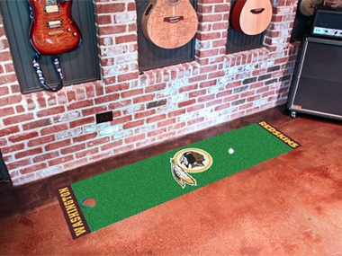 Washington Redskins Putting Green Mat