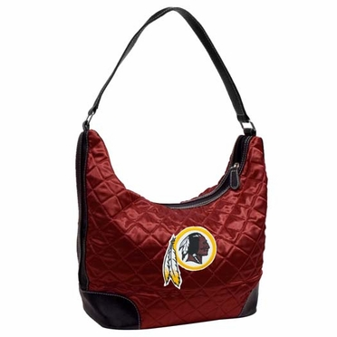 Washington Redskins Quilted Hobo Purse
