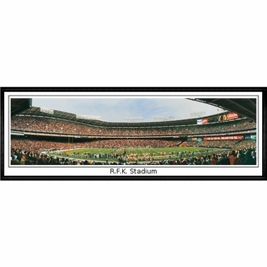 Washington Redskins R.F.K. Stadium Framed Panoramic Print