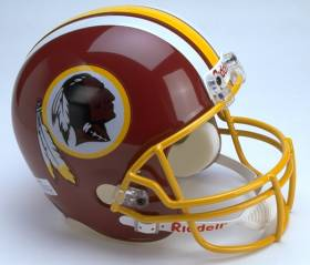 Washington Redskins Riddell Full Size Authentic Helmet
