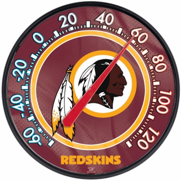 Washington Redskins Round Wall Thermometer