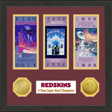 Washington Redskins Washington Redskins SB Championship Ticket Collection