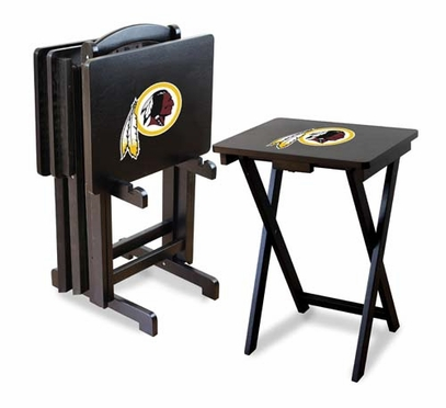 Washington Redskins Set of 4 Folding TV Trays