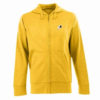 Washington Redskins Mens Signature Full Zip Hooded Sweatshirt (Color: Gold)