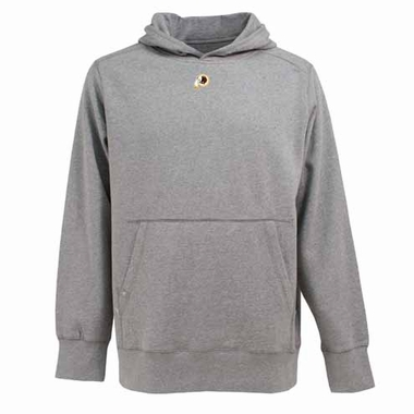 Washington Redskins Mens Signature Hooded Sweatshirt (Color: Gray)