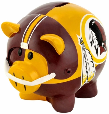 Washington Redskins Piggy Bank - Thematic Small