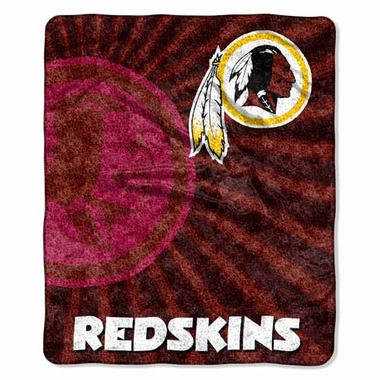 Washington Redskins Super-Soft Sherpa Blanket