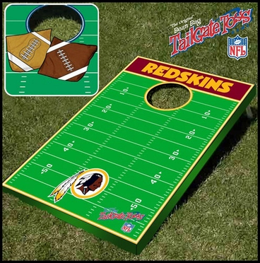 Washington Redskins Tailgate Toss Cornhole Beanbag Game